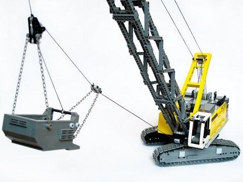 Lego Liebherr HS 855 dragline excavator