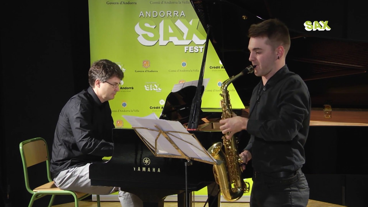 MARÇAL MONTLLO TEJEDOR - 1st ROUND - V ANDORRA INTERNATIONAL SAXOPHONE COMPETITION 2018
