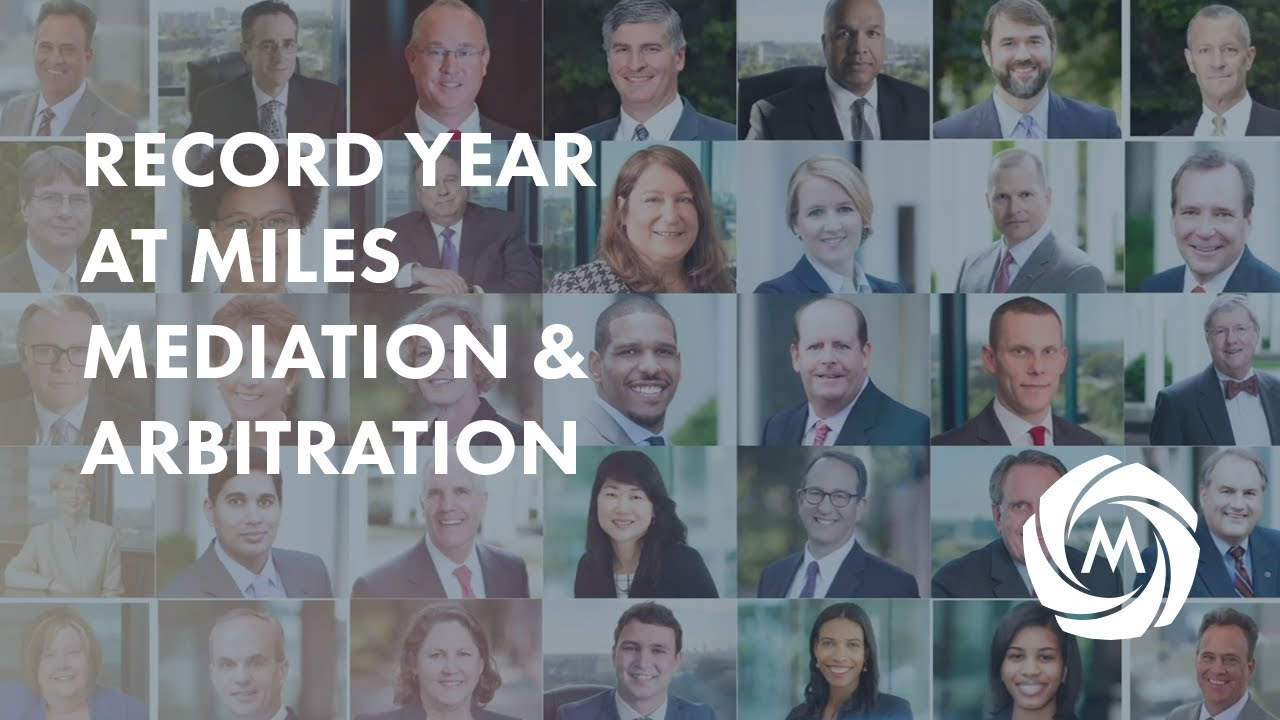 Record Year at Miles Mediation & Arbitration video