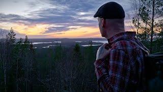 Kolmen vuoren vaellus - Marraskuun hämärää Etelä-Konneveden kansallispuistossa
