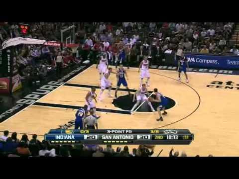NBA Indiana Pacers Vs San Antonio Spurs (March 31,2012) Match RECAP