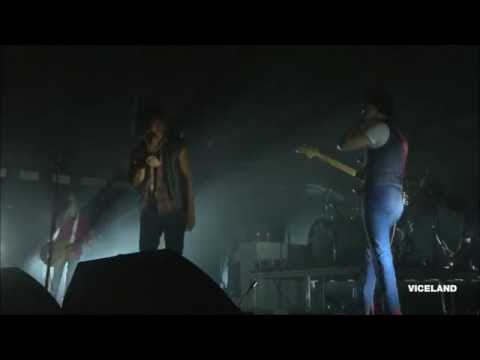 The Strokes - Clampdown (the Clash cover) live Governors Ball 2016