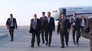 С.Лавров прибыл в Ашхабад для участия в заседании Совета мининдел государств-участников СНГ