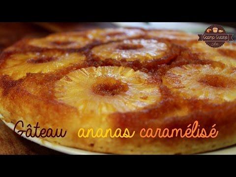 gâteau-renversé-à-l'ananas-caramélisé