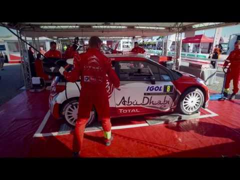 Abu Dhabi Total WRT - Tour de Corse - Shakedown