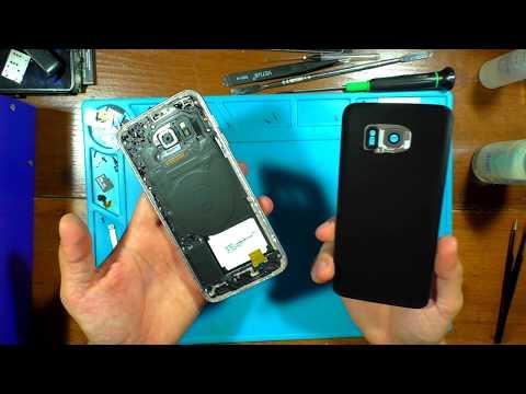 Samsung S7 G935 ЗАМЕНА ЗАДНЕЙ КРЫШКИ