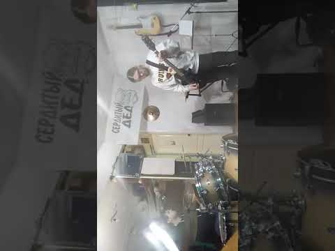 Репетиция с братом, барабаны Кирилл Томилов