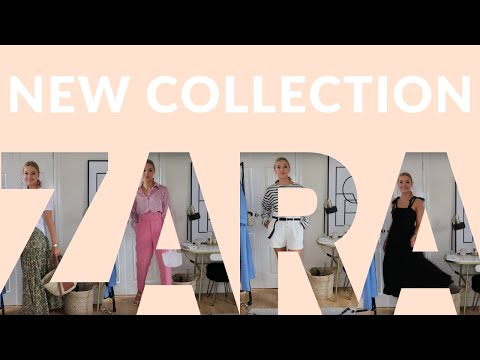 ZARA HAUL & TRY-ON FOR SUMMER | JULY 2019 | LYDIA TOMLINSON