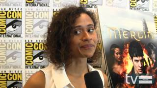 Merlin Season 5: Angel Coulby (Comic-Con 2012)