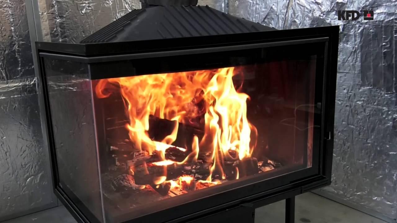 KFD ECO iLUX 90+ L/R premium - corner fireplace insert ...