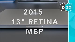 """13"""" Retina Macbook Pro Review - Force Touch Trackpad (2015)"""