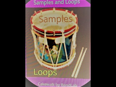 Cakewalk by BandLab Samples and Loops Session 3