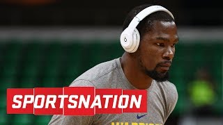 Do nba players disrespect kevin durant? | sportsnation | espn