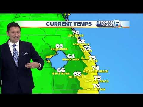 South Florida Friday morning forecast (12/14/18)
