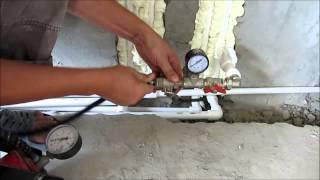ОПРЕССОВКА СИСТЕМЫ ОТОПЛЕНИЯ - ВОЗДУХОМ!!!(В ролике показано как опрессовать систему отопления или водопровода воздухом!, 2015-09-14T15:25:59.000Z)