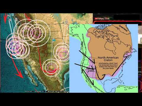 8/20/2017 -- Global Earthquake Update -- West Coast USA Plate moving -- Slow slip stopping?