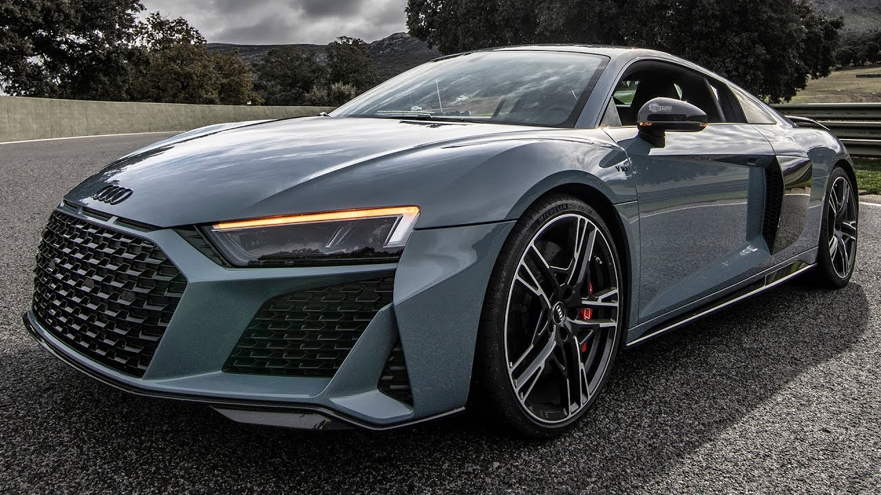 New 2019 20 Audi R8 V10 Performance 620hp Na Kemora Gray Car Color And Optics
