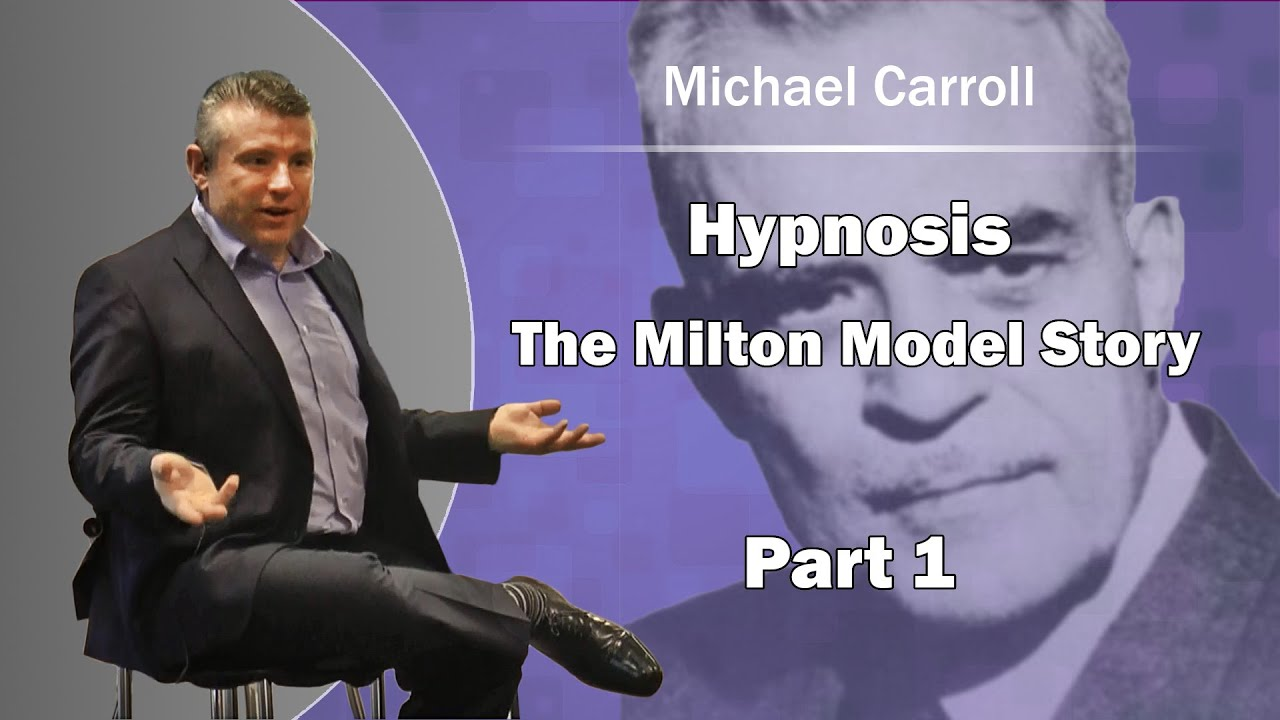 Hypnosis- NLP - The Milton Model Story, part 1. - YouTube