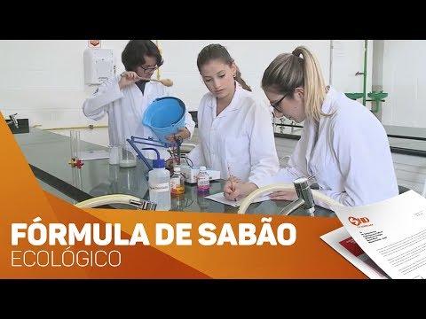 Estudantes criam fórmula sabão ecológico em Sorocaba - TV SOROCABA/SBT
