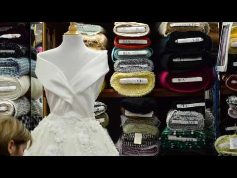 Bridal Fabrics Mannequin