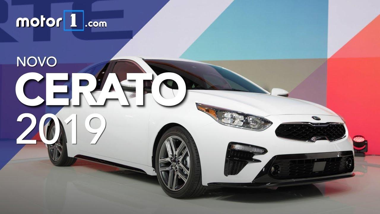 novo kia cerato 2019 - sal u00e3o de detroit