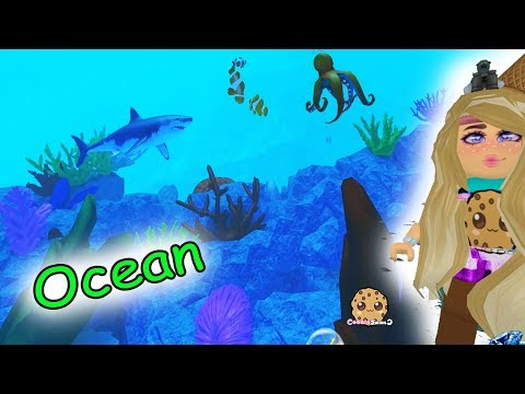 Amazing Under Water Life ! Ocean Animals + Hotel Stay - Roblox Cookie Swirl C Game Video