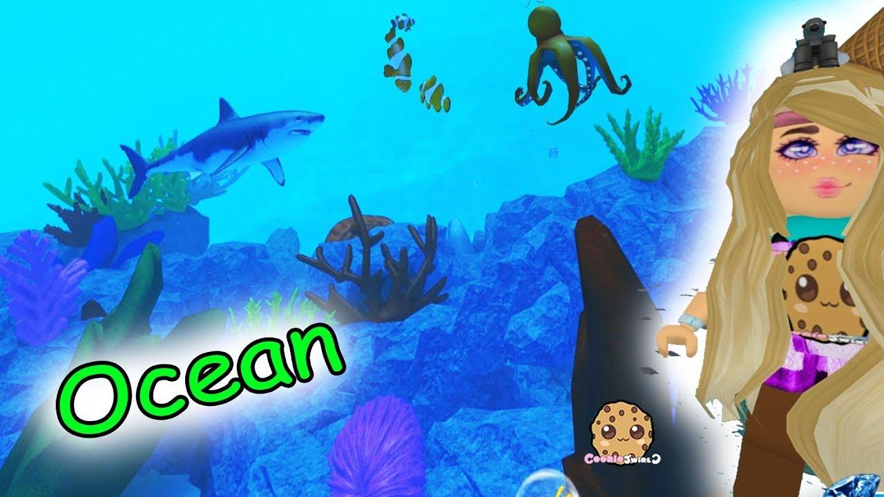 Amazing Under Water Life ! Ocean Animals + Hotel Stay – Roblox Cookie Swirl C Game Video
