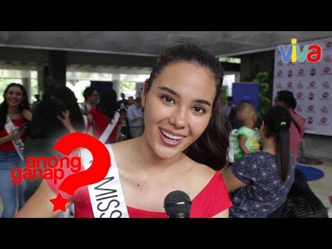 Miss Universe Philippines 2018 Catriona Gray on doing charity work
