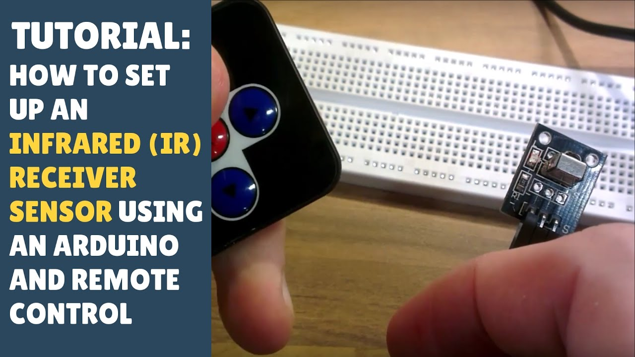 TUTORIAL: How to set up an IR (Infrared) receiver/sensor Module - Arduino  (Remote control)