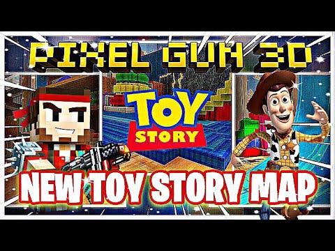NEW TOY STORY MAP | PIXEL GUN 3D