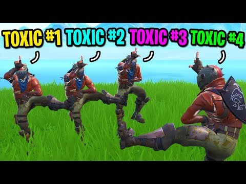 We created the most TOXIC Fortnite squad of all time... (4 RUST LORDS!) thumbnail