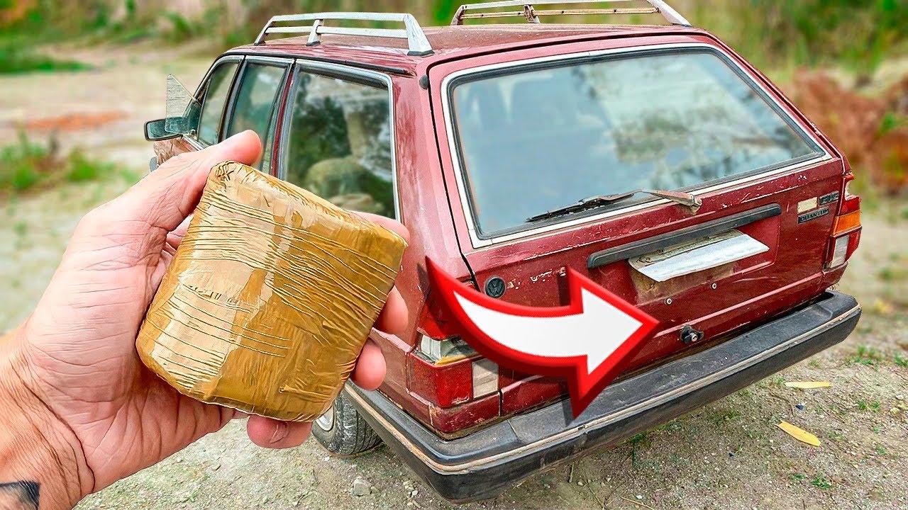 Download SERÁ QUE UM MORTEIRO Abre o Porta-Malas de um CARRO ?