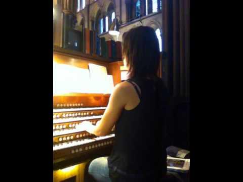 Bach Prelude in G, BWV 541, Salisbury Cathedral Organ
