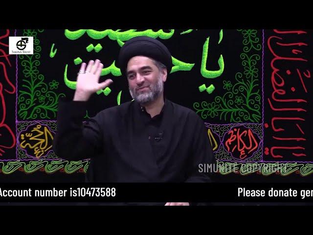 6th Muharram 1442/2020| Topic Dua Majlis | Imamia Mission East London | Maulana Syed Ali Raza Rizvi
