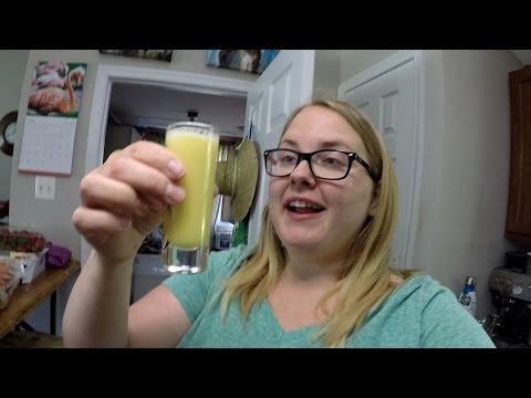 Ginger Juice Shot (vlog)