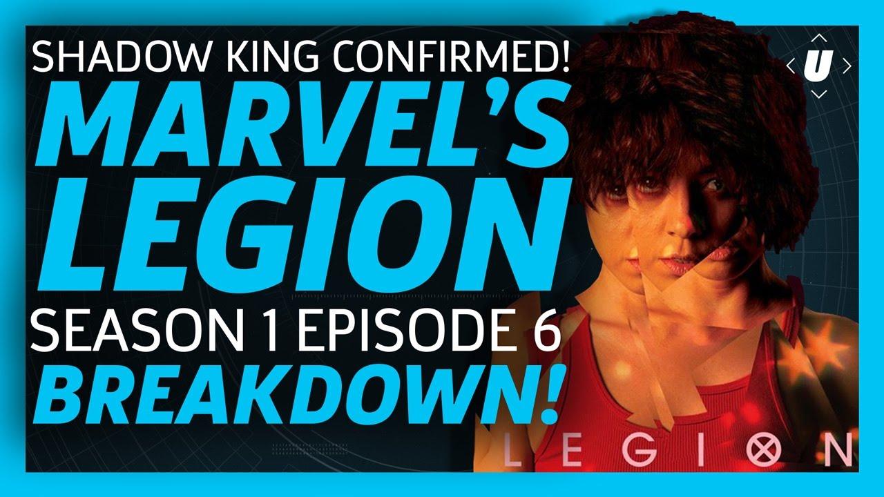 Download SHADOW KING CONFIRMED! Legion Episode 6 Breakdown, Episode 7 Promo and comic book EASTER EGG Recap