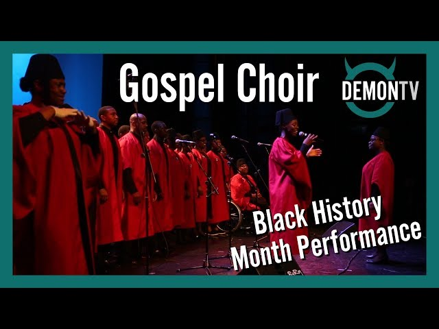 Gospel Choir | Black History Month Performance