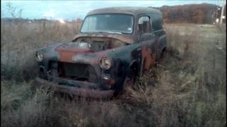 OLD ANTIQUE CLASSIC ABANDONED  CARS AND TRUCKS PA