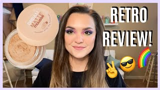Throw Back Drugstore Foundation Maybelline Dream Matte Mousse Foudation Retro Review