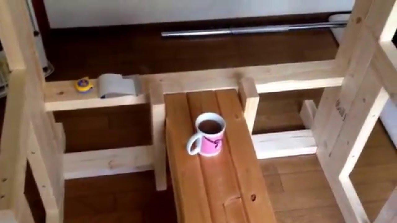Diy Bench Press 2 Youtube