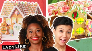The Ultimate Gingerbread House Competition • Ladylike