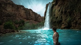 SECRET GRAND CANYON WATERFALLS IN 360