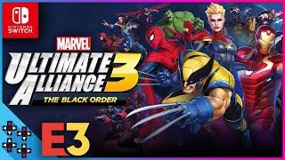 E3 2019: Marvel Ultimate Alliance 3 for Nintendo Switch!