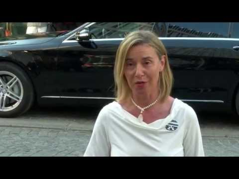 Iran Nuclear Talks in Vienna   Doorstep by the HRVP