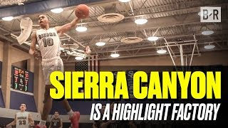 Cassius Stanley, Kenyon Martin Jr, Scotty Pippen Jr, & Sierra Canyon Dunk EVERYTHING in Win