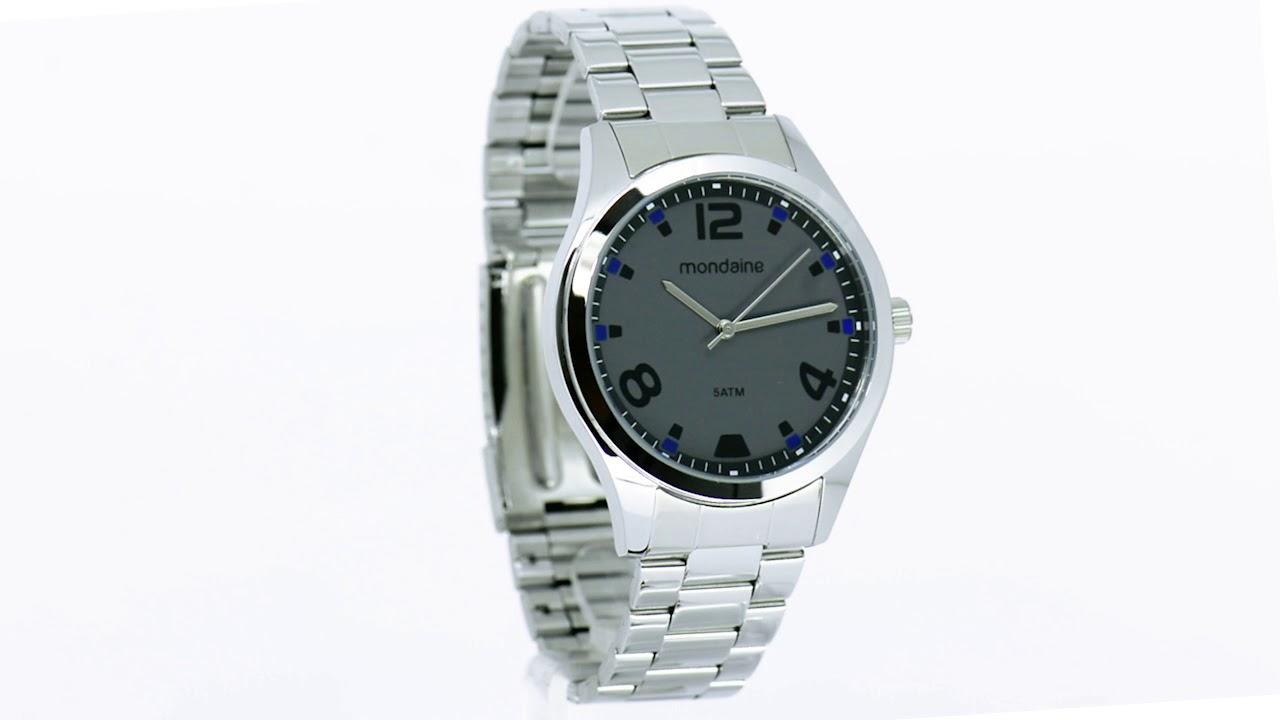 Relógio Mondaine Masculino 78740G0MVNA2 - Eclock - YouTube ec9e5fc089