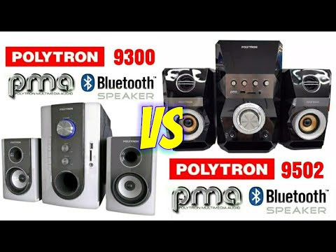 SPEAKER AKTIF POLYTRON PMA 9300 VS PMA 9502 SPEAKER AKTIF POLYTRON TERBAIK JAMAN NOW
