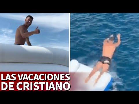 Cristiano Ronaldo ya disfruta de sus vacaciones