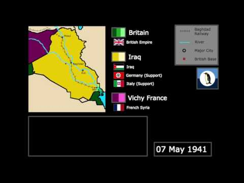 {Wars} The Anglo-Iraqi War (1941): Every Day