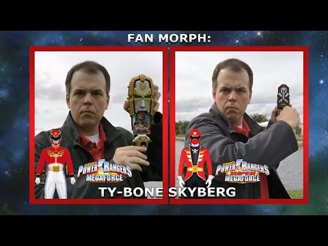 MegaForce Red & Super MegaForce Red (Fan Morph) (Inspiration By Mr Weenie Productions)